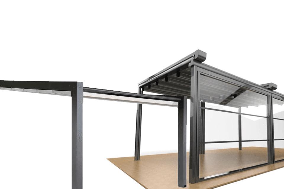 Sisteme închidere folie transparenta cu bride și capse